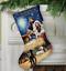 Le dimensioni-Contato Oro Punto Croce Kit-Calza di Natale