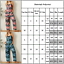 thumbnail 2 - Womens Geometric Jumpsuit Wide Leg Casual Summer Loose Romper Overalls Playsuit