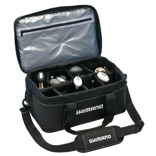 Shimano Bhaltair Fishing Reel Storage Carry Bag Größe Größe Bag Medium BHAL120MBK 1bf3fb