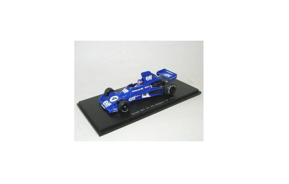 Tyrrell 007 n°4  4th GP Belgium 1975 P.Depailler S1646 1 43 Sparkmodel