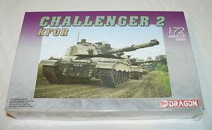 CHALLENGER 2 KFOR BRITISH ARMY TANK MODEL - DRAGON 1/72 ARMOR SERIES