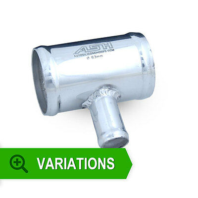 New ASH Fabrications Aluminium Dump Valve Connecting T Piece To Suit Pipe Alloy