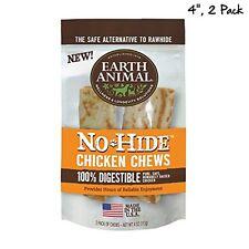 Earth Animal Nohide Chicken Chews 2 Pack 4 Oz