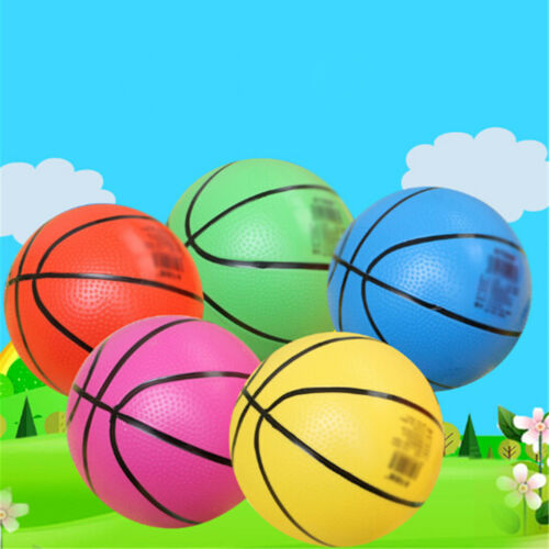 20cm Inflatable PVC Basketball Beach Ball Kid Adult Outdoor Sports Gift Toy  CH