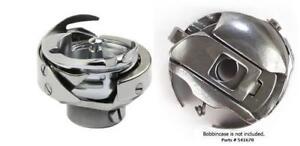 Rotary Hook Bobbin Case+10 Bobbin for Singer 20U Zig Zag Sewing #541674 410019
