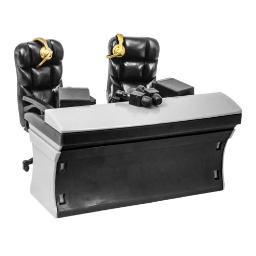 ULTIMATE Black Commentator Table Playset for WWE Action Figures