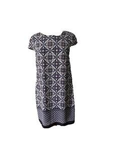 Tokito City Womens Size 10 Aline Sleeveless Dress Cap Sleeves
