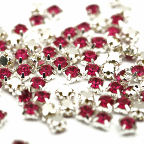 Wholesale 200pcs Rhinestone Crystal Gemstone Spacer Beads For Jewelry Making 4mm