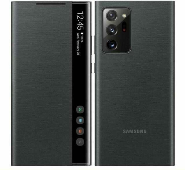 """Samsung Galaxy Note 20 Ultra (6.9"""") 5G SAMSUNG Smart Clear View Cover - Black"""