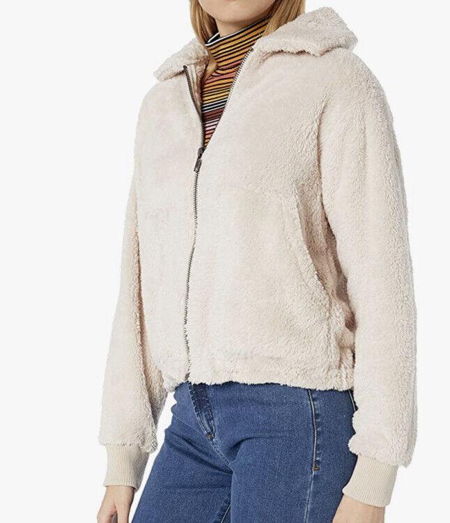 NWT Billabong Women's Fleece Jacket, Whisper Size S