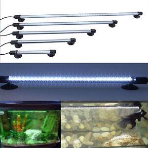 18 62cm led aquariumlampe leuchten unterwasser wasserdicht. Black Bedroom Furniture Sets. Home Design Ideas