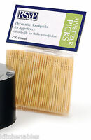 Rsvp 250 Decorative Toothpicks Appetizer, Hor D'oeuvre, Cocktail 2.5 Long Heavy