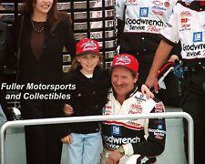 DALE EARNHARDT SR WINS DAYTONA 500 VICTORY LANE 1998 8X10 PHOTO NASCAR WINSTON