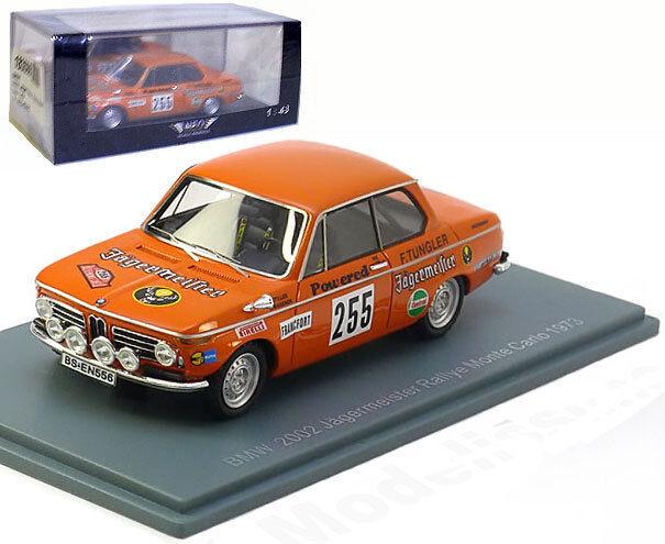 Neo Bmw 2002 Rally de Monte Cochelo 1973-stiller wegener 1 43 Escala
