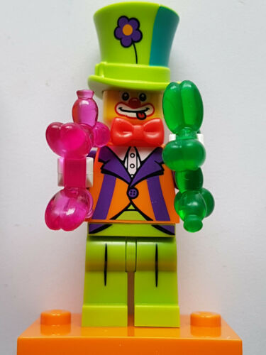 Nr Lego Minifiguren Serie 18 4 Party Clown #2357