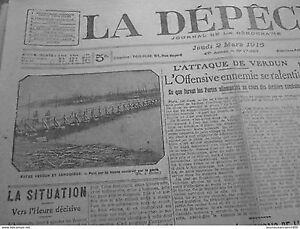 1916-GIOVEDI-2-MARS-VERDUN-SAMOGNEUX-PONTE-MEUSE-GENIE-COSTRUZIONE-GUERRE