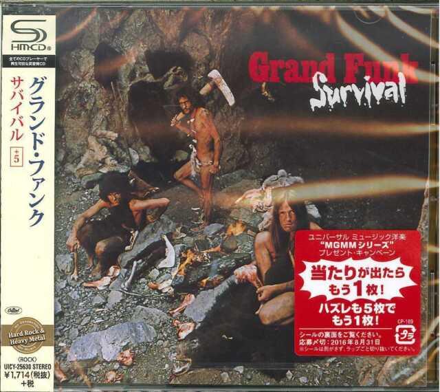 GRAND FUNK-SURVIVAL-JAPAN  SHM-CD D50
