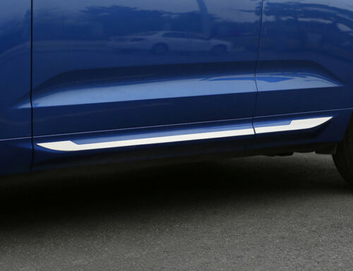 Stainless Steel Side Body Molding Cover Trim 4pcs For Volvo XC60 2018