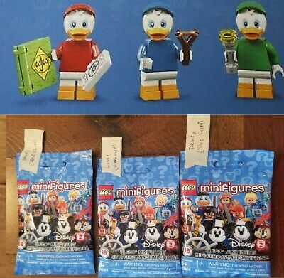 Louie Disney Minifigures Series 2-71024 New Huey Tagged Dewey Lego