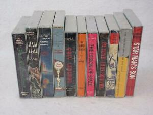 Lot-of-11-SCIENCE-FICTION-FIRST-EDITION-LIBRARY-Sealed-Original-Shipping-Box