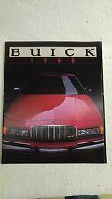 1988 Buick Dealer Sales Brochure Catalog, Riviera,LeSabre,Electra,Regal