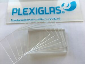 3mm XT Acryl-Zuschnitt//Plexiglas-Platte transparent 50 x 10 cm