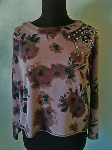 Gaudi-Maglia-Felpa-cotone-donna-long-sleeve-tg-L-42-44-nuovo-senza-etichetta