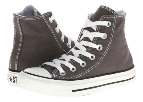 Converse Chuck Taylor All Star Hi Tops Charcoal All Sizes Womens Sneakers Shoes