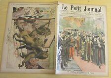 Le petit journal 1906 832 Lord-maire à Paris dévoré cage aux lions