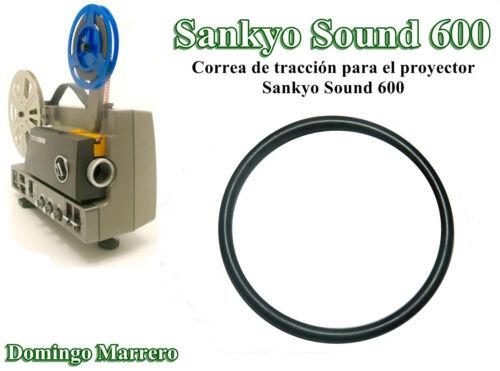 Drive Belt Correa Proyector Cine Super 8 Sankyo Sound 600 y OMS-600