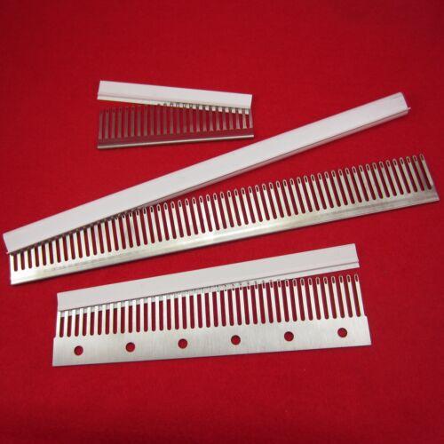 transfer combs decker knitting machine 5.6 gauge 4.5mm 24 40 60 Deckerkämme
