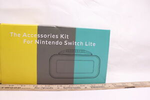 Yoowa Accessories Kit for Nintendo Switch Lite with Carrying Case M11ZH-004FBA