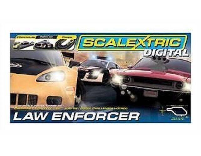 SCALEXTRIC DIGITAL C1310 Scalextric Digital Law Enforcer Set