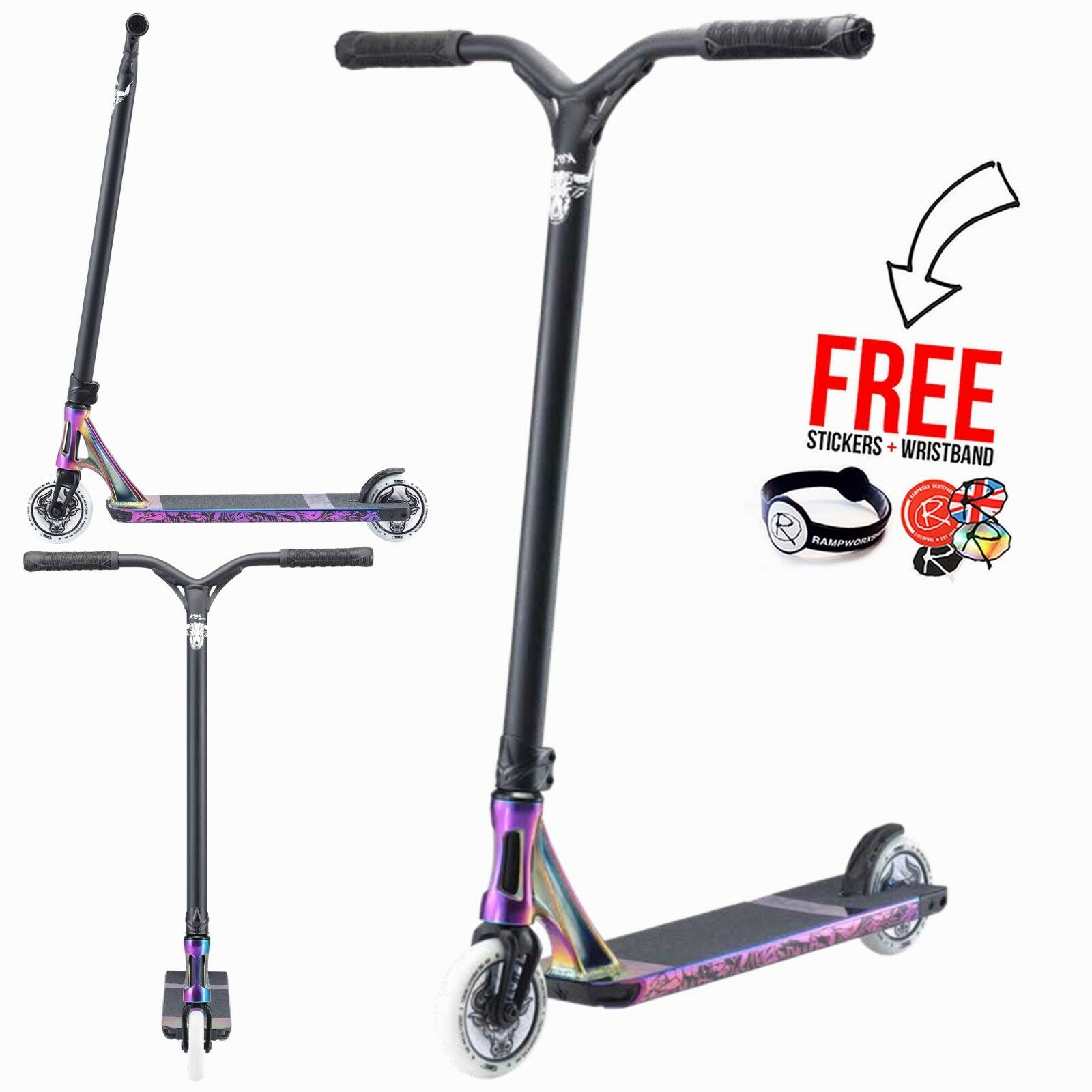 Blaunt Scooter 2019 KOS Charger S6 Complete Stunt Scooter, Oil Smooth