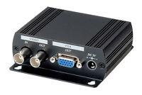 Dvr Surveillance Bnc Composite Video To Vga Converter, Dual Output To Bnc/vga