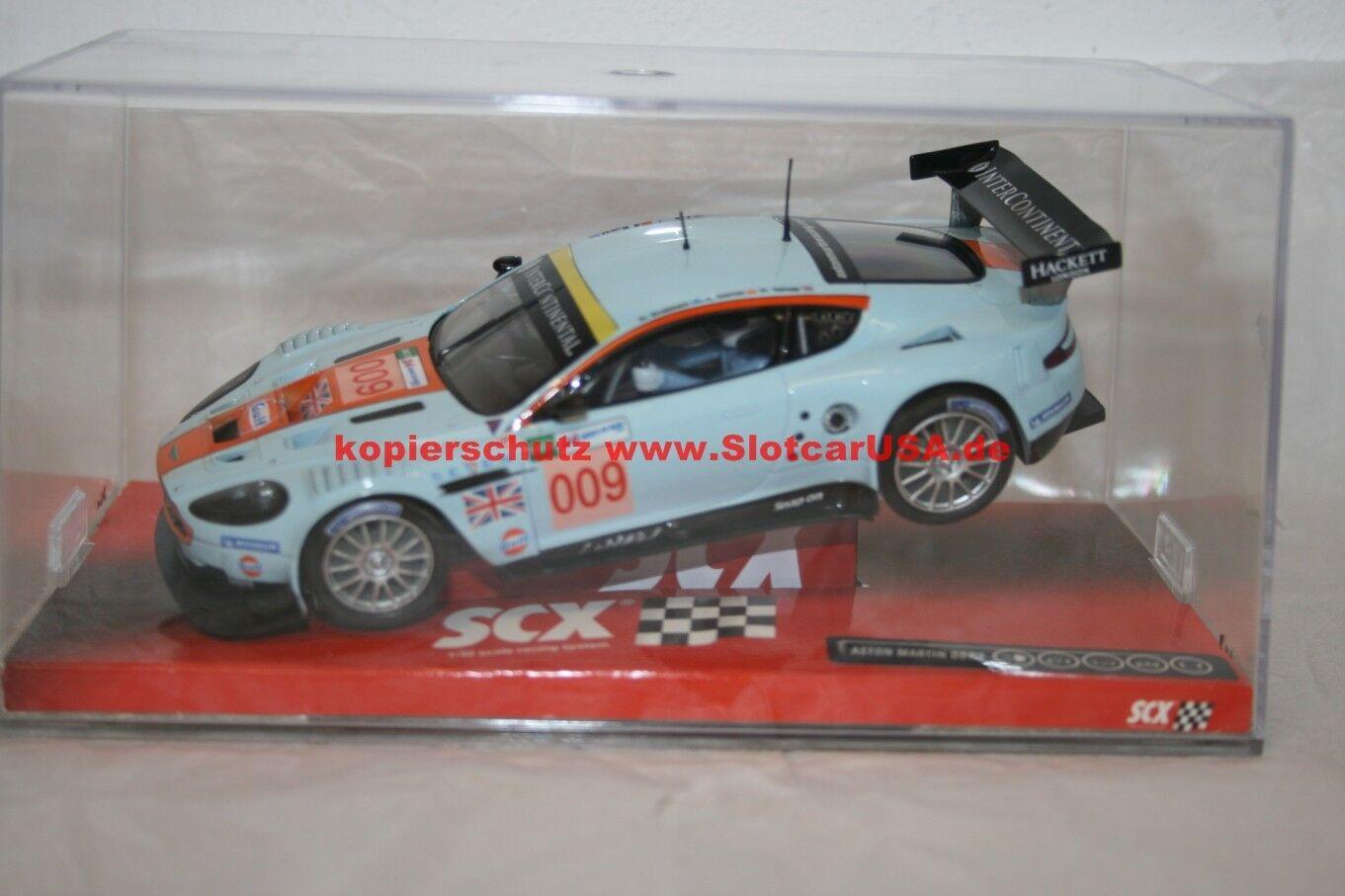 Scx 63870 Aston Martin Dbr 9 Toro Rosso No. 009 Gulf Nuovo