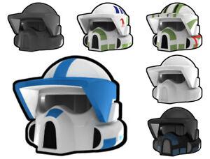 Custom ARF Clone Trooper HELMET for Star Wars Minifigures -Pick the Style!