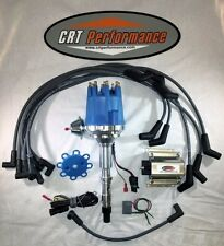 small cap AMC JEEP 290,304,343,360,390,401 BLUE HEI Distributor,COIL + Wires
