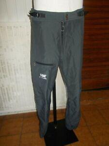 Pantalon-technique-randonne-gris-HELLY-HANSEN-M-w34-42-44fr-multi-poches-19MA15