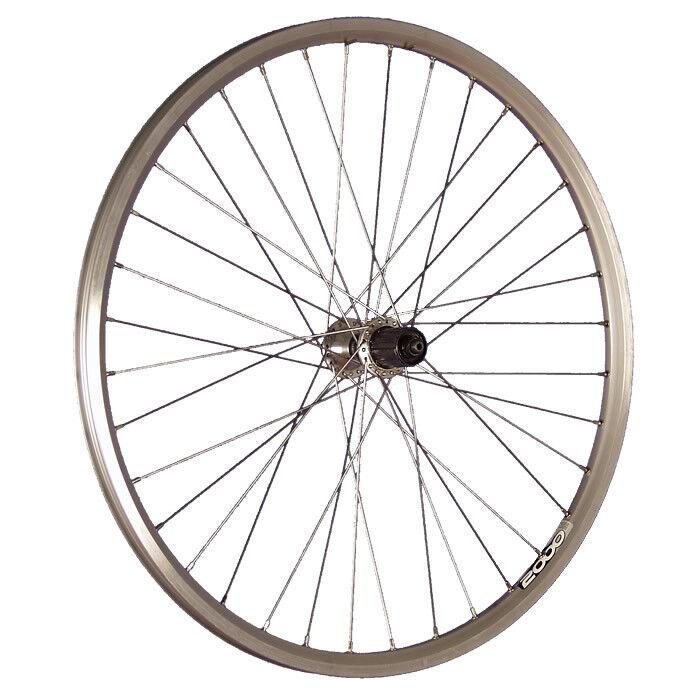 Taylor Wheels 26 pouces roue arrière vélo ZAC2000 moyeu Shimano Acera silver