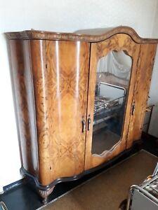 Camera Matrimoniale Anni 40.Dettagli Su Camera Matrimoniale Completa Chippendale Anni 40 Mobile D Epoca Vintage