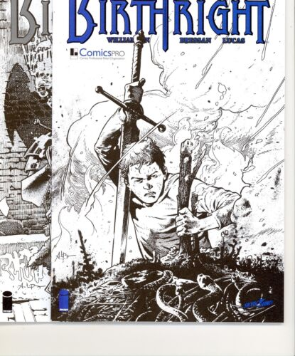 Birthright #1 NYCC Exlusive Sketch Variant /& COMICS Pro variant 3 BOOK LOT