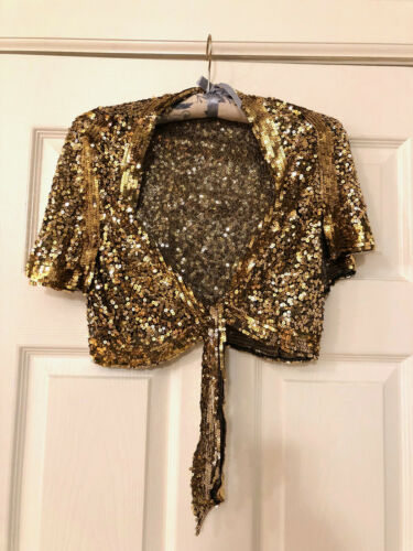 1930s Sequin Bolero Jacket