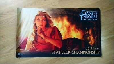 A Game Of Thrones LCG 2.0 Winter Champion 2015 Playmat