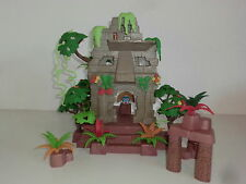 Playmobil Inkas Dschungelruine Mumienversteck Massai Urwald 3015