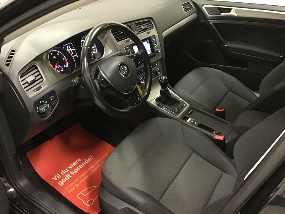 VW Golf VII 1,6 TDi 105 Comfortl. Variant BMT Diesel modelår