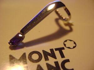 MontBlanc-Boheme-pen-replacement-spare-parts-Mont-Blanc-Pocket-clip-Platinum