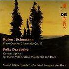 Draeseke: Quintet, Op. 48; Schumann: Quartet, Op. 47 (2015)