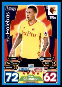 313 Match Attax 2017-2018 Jose Holebas Watford no