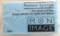 Blue 1x1.5x2.5 Pumice Sponge Hand Foot Care - Removes Dry Scales & Calluses